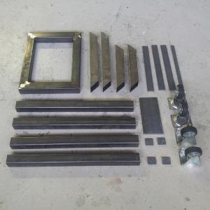 onderdelen stalen frame beeldhouwbok